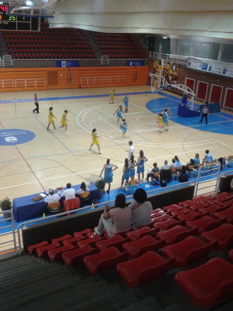LF2: Cal y arena en el torneo de Alcobendas