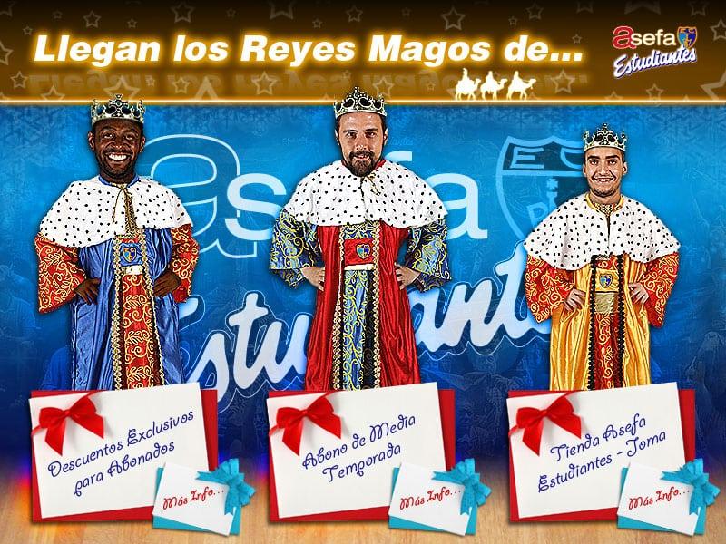 Los Reyes Magos de Asefa Estudiantes