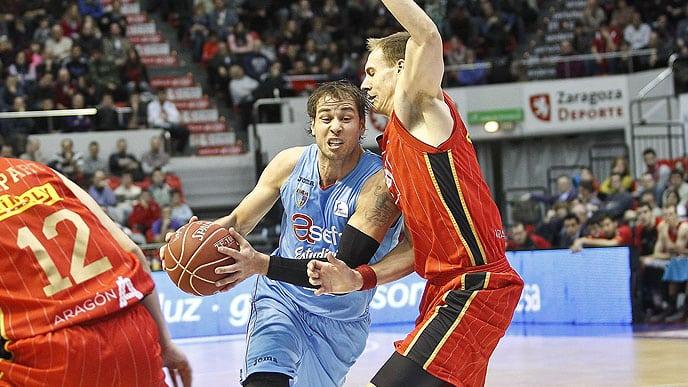 Primera victoria en Zaragoza para darse un chute de autoestima  (77-82)