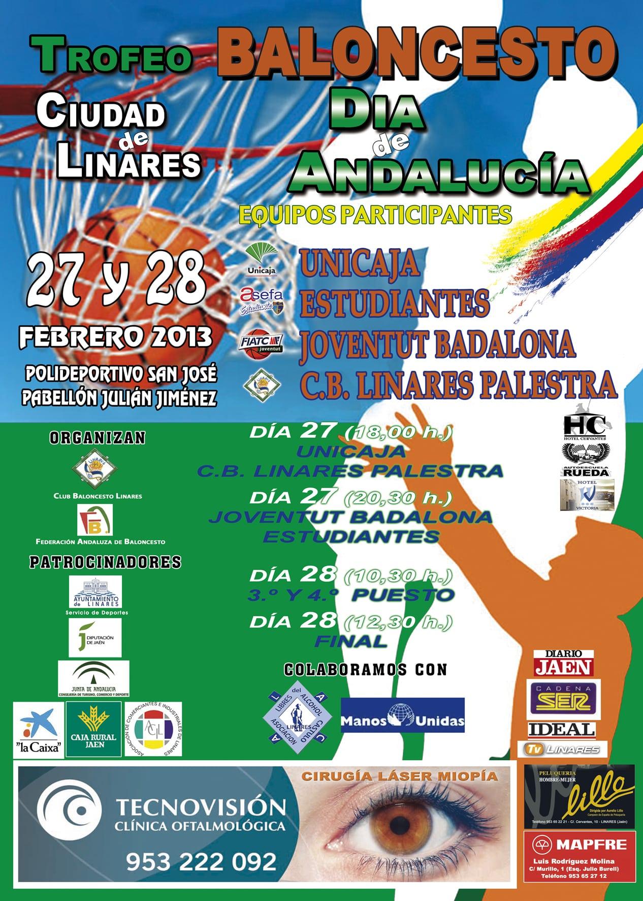 Potente torneo júnior en Linares por el día de Andalucía