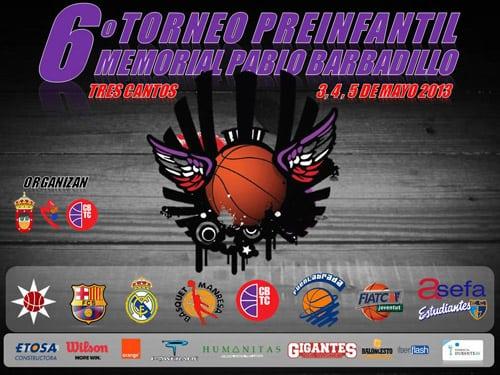 6º Torneo Preinfantil Memorial Pablo Barbadillo, este fin de semana