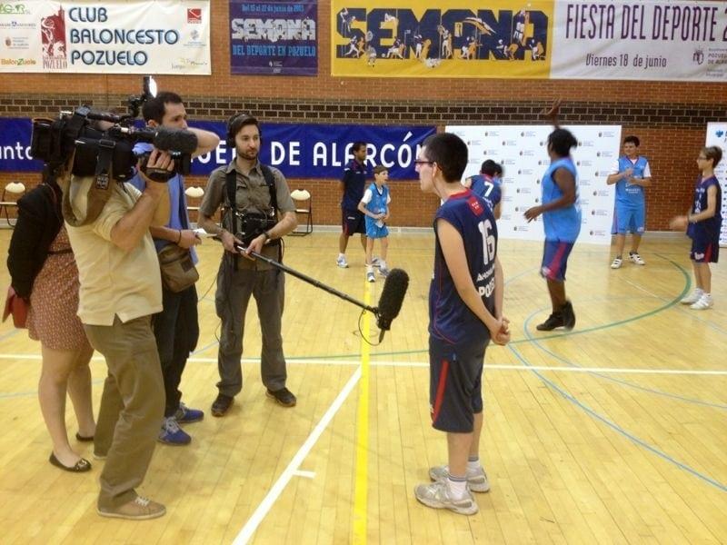 La Fundacion Estudiantes en el Telediario de TVE (viernes 5 de julio, 15:45, 21:45)