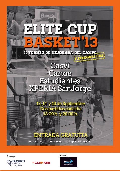 Torneo de lujo para el EBA: Elite Cup Basket en Mejorada