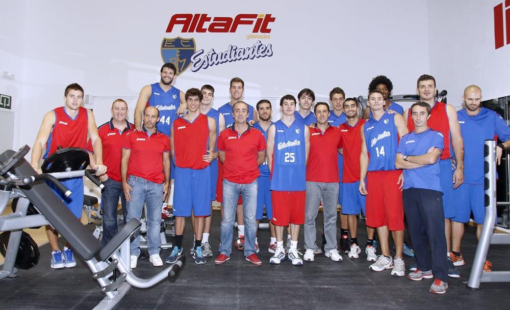 Estudiantes inaugura el gimnasio Altafit Magariños
