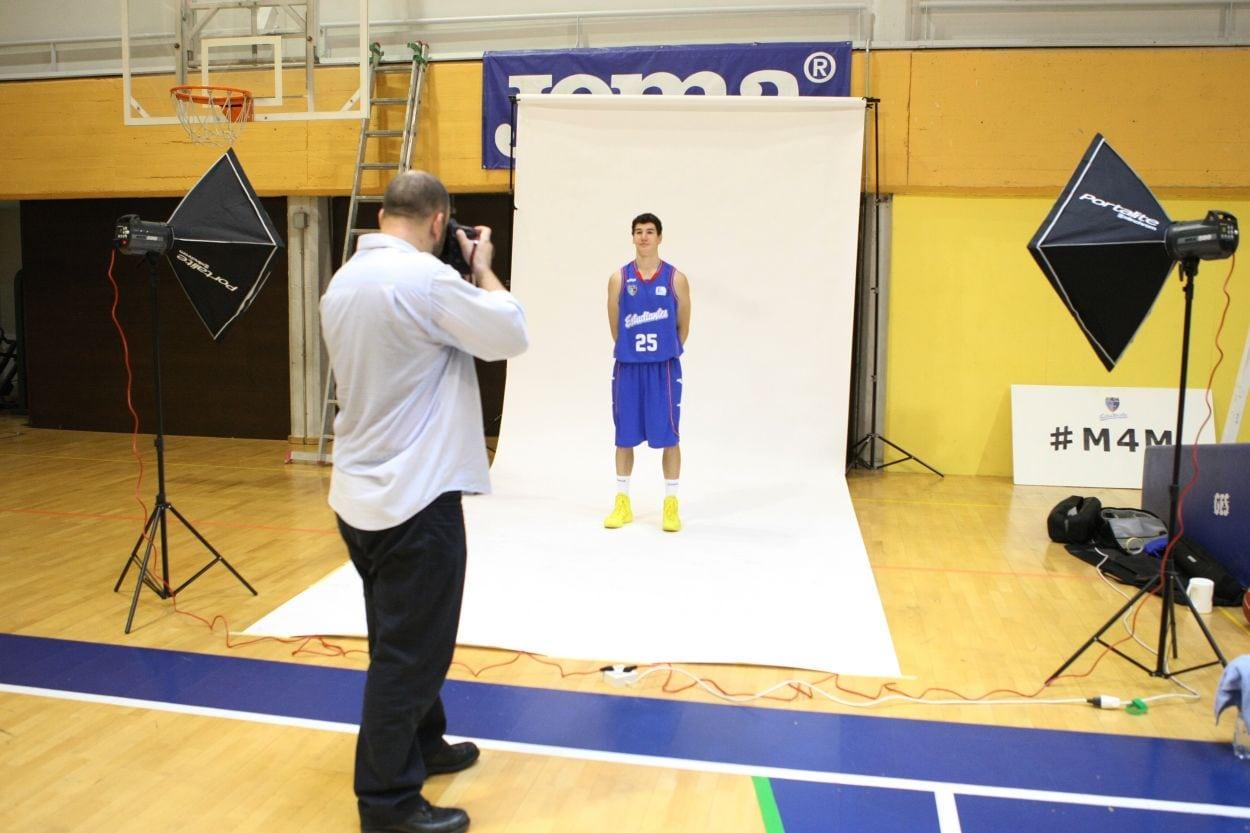 Así se hizo la sesión de fotos oficial para la guía de Liga Endesa