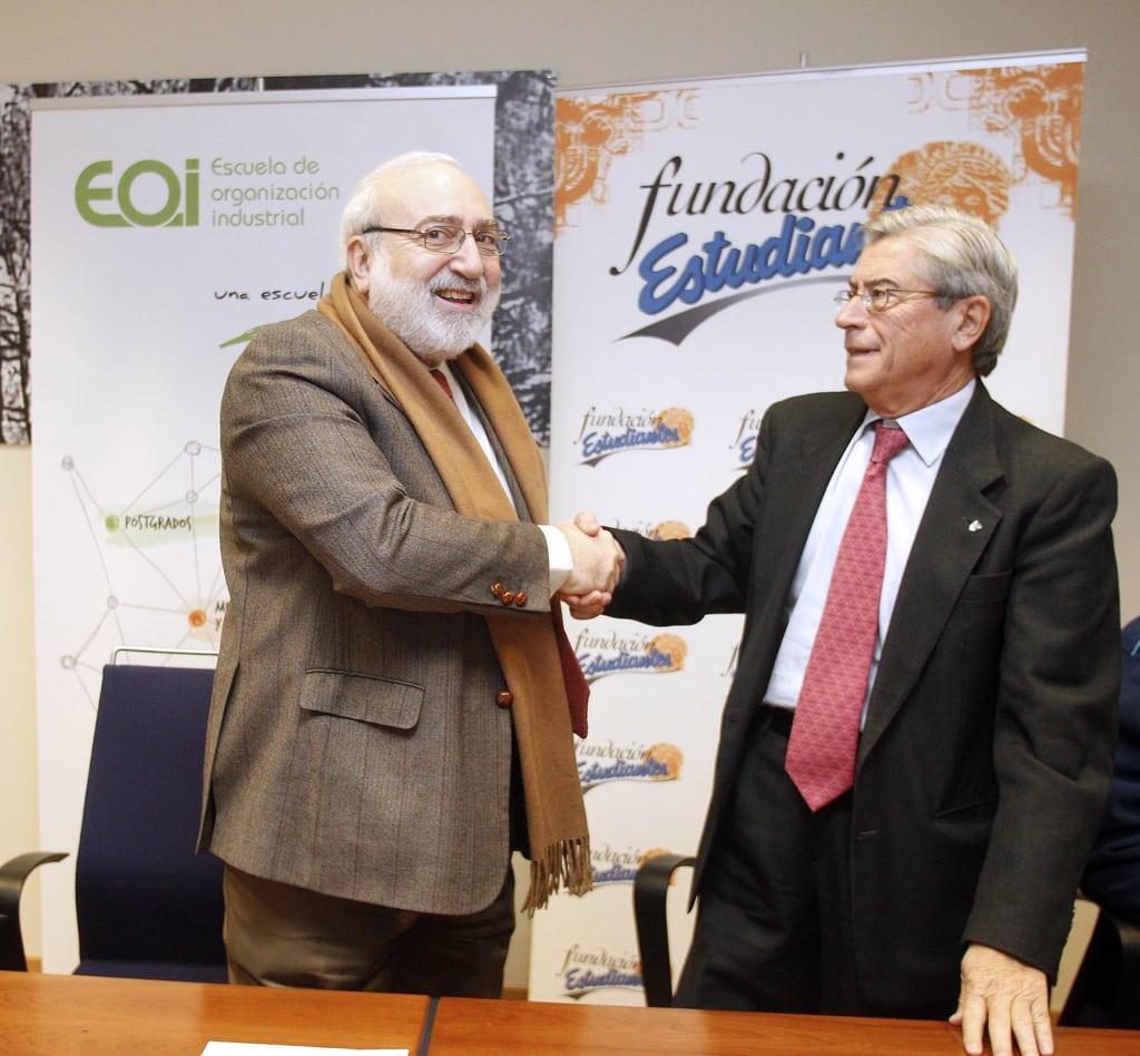 Fundación EOI y Fundación Estudiantes colaborarán juntas en actividades de interés común