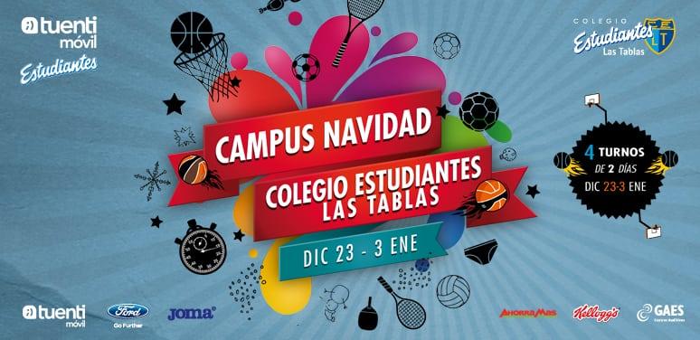Campus Navidades del Colegio Estudiantes Las Tablas
