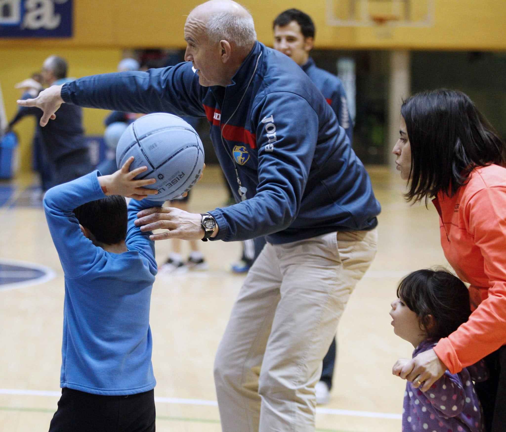 Magariños, testigo de cómo el baloncesto sirve como herramienta en la rehabilitación oncológica