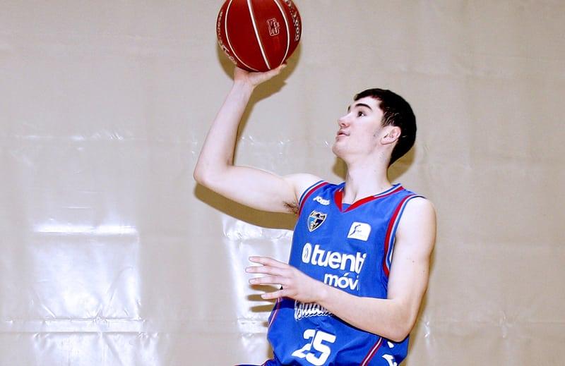 """Darío Brizuela: """"No me veía preparado para el salto ACB. El objetivo es estarlo"""""""