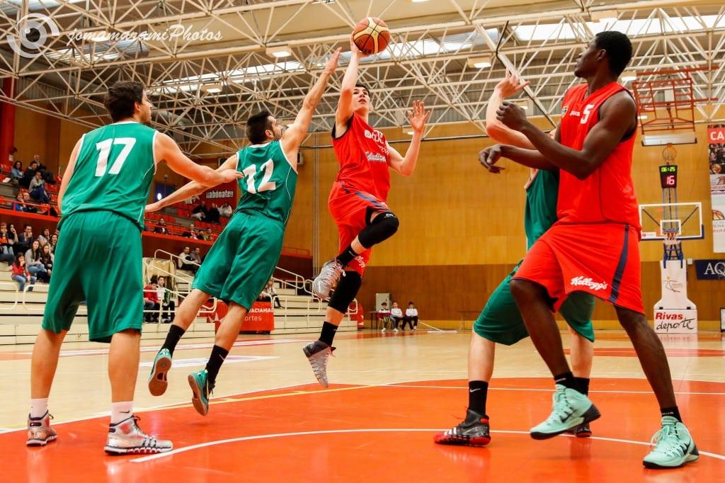 EBA: Golpetazo en la mesa ante Covibar Rivas (50-65)
