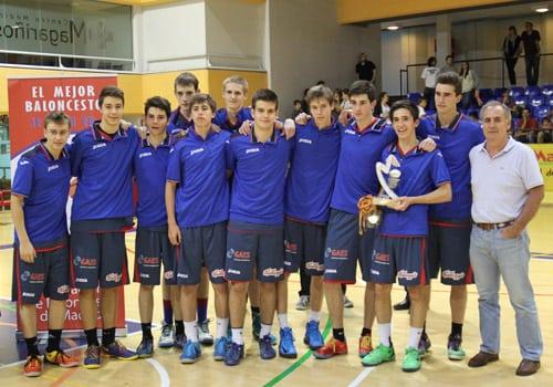Subcampeones de Madrid cadetes, y al campeonato de España