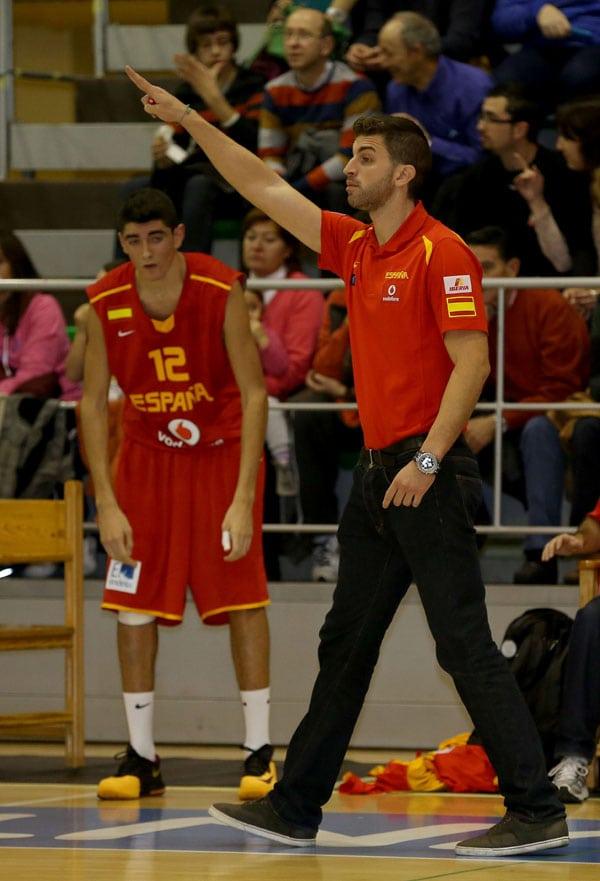 Javier Zamora dirigirá la U15M, en la que está Héctor Alderete.