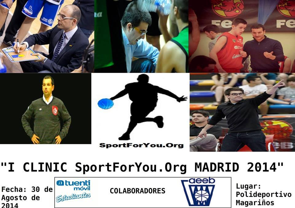 Magariños acogerá el 30 de agosto el I Clínic SportForYou.org con reputados entrenadores de cantera