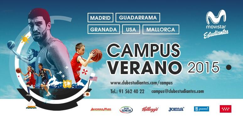 Campus de Verano 2015 de Movistar Estudiantes