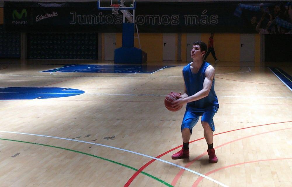 Darío Brizuela se reincorpora al primer equipo de Movistar Estudiantes
