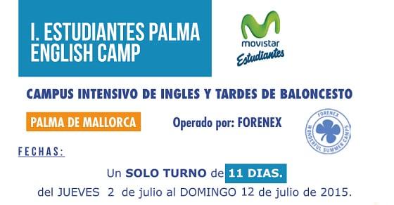 I Estudiantes Palma English Camp, Mallorca