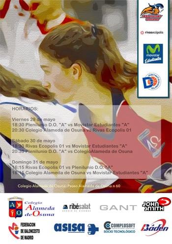 Fases Finales de Madrid Infantiles, masculino y femenino