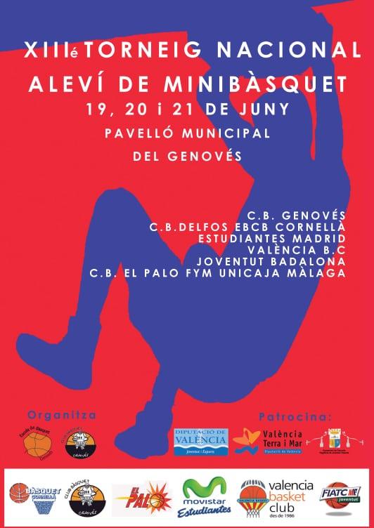 Torneos de minibasket en La Roda y Genovés