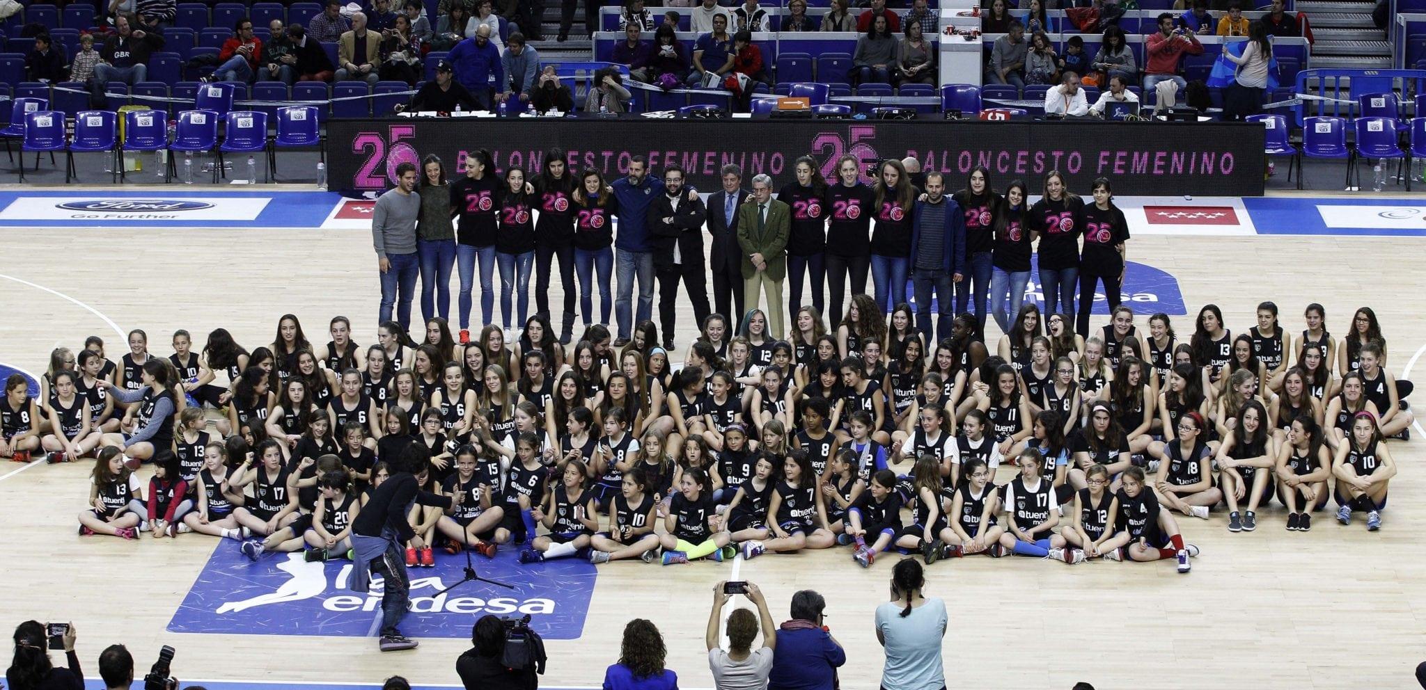 La cantera femenina de Movistar Estudiantes, premio Rosa Manzano 2015 de igualdad