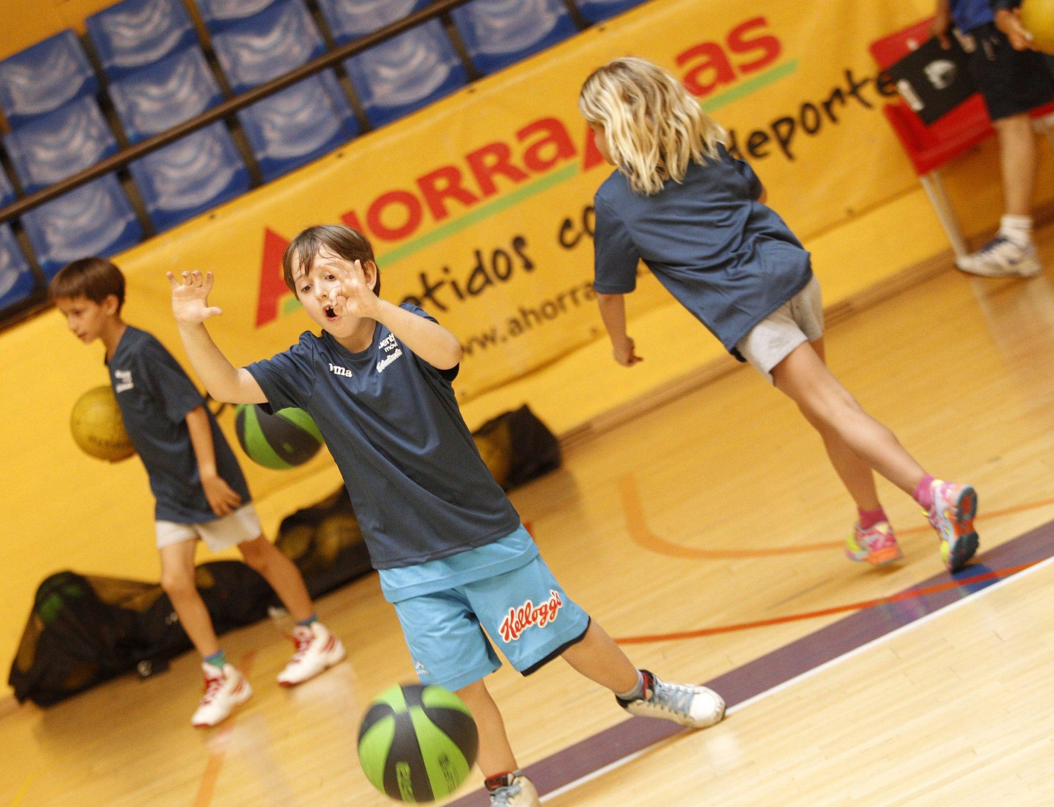 """IV Campus """"Comienza el baloncesto"""" , septiembre 2015. Madrid"""