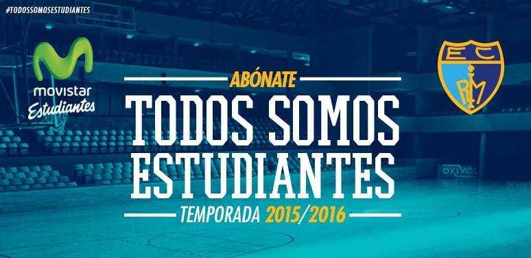 Casi 7000 abonados en la primera fase de la Campaña de Abonos 2015-16 de Movistar Estudiantes. Arranca la segunda, dirigida a nuevos abonados