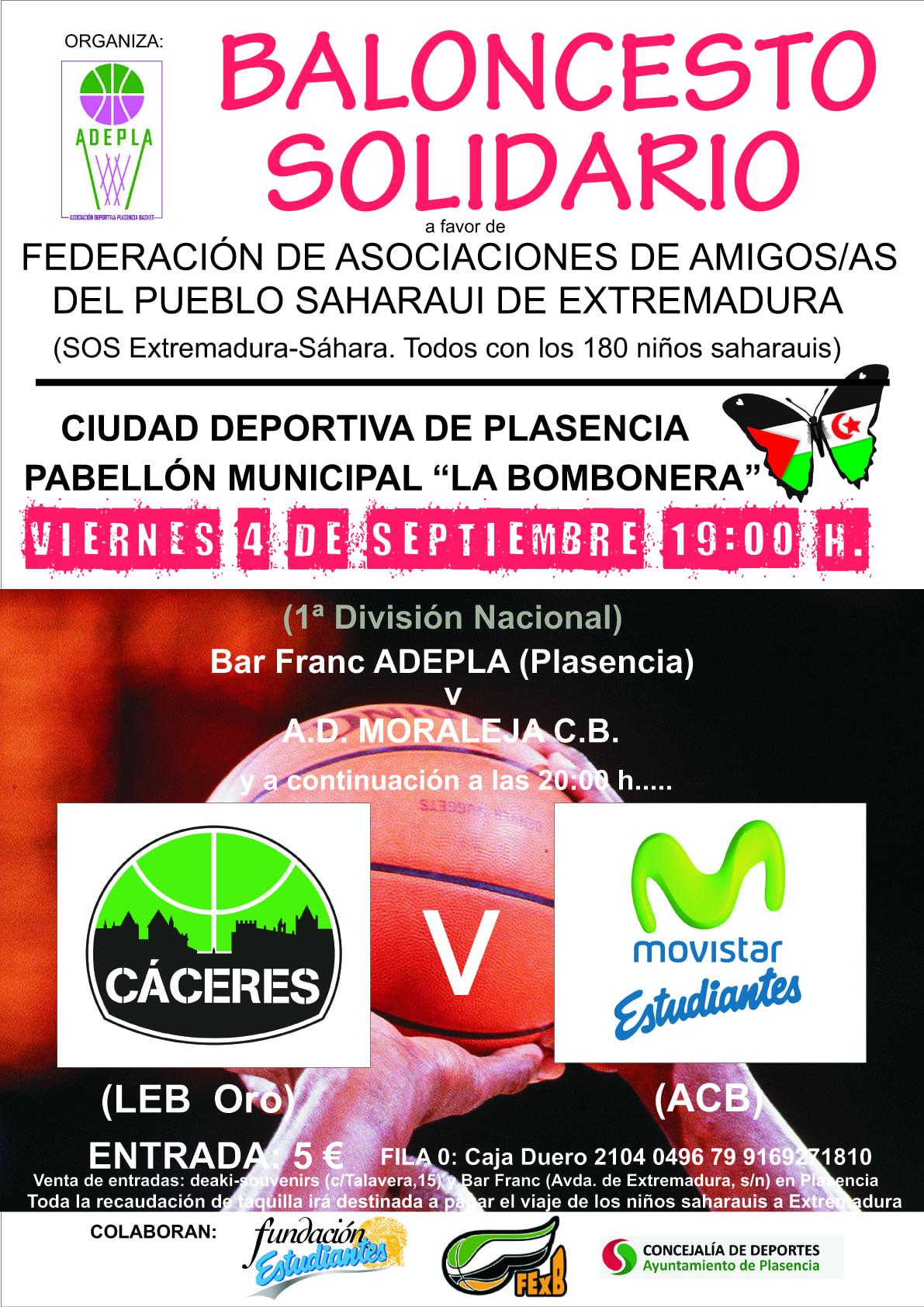 Presentado el primer amistoso de pretemporada: partido solidario con el Sahara el 4 de septiembre en Plasencia contra Cáceres
