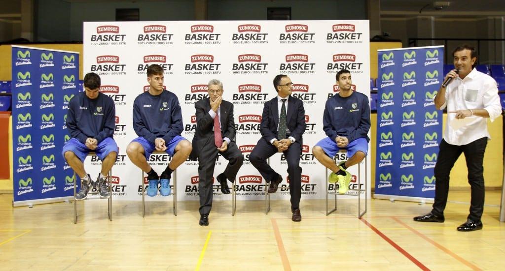 Zumosol se estrena como patrocinador de cantera de Movistar Estudiantes con un espectacular concurso de triples