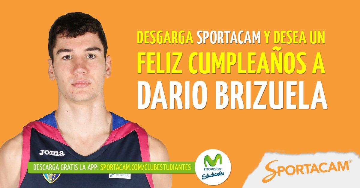 ¡Feliz 21º cumpleaños, Darío Brizuela!