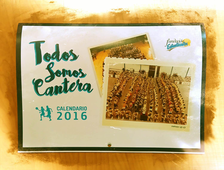 Nuestra cantera, protagonista del calendario 2016