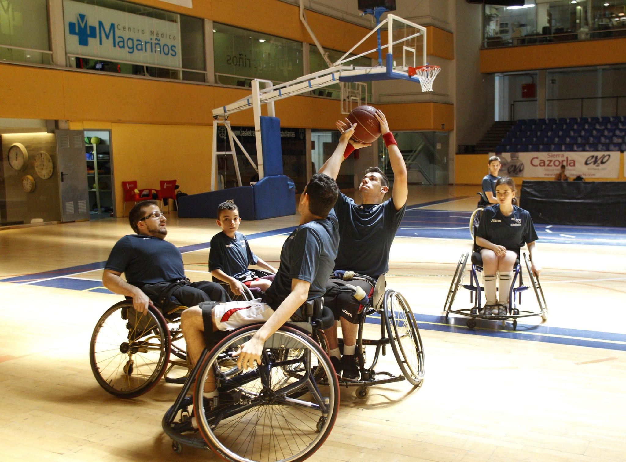 El jueves se presenta la primera Escuela de Baloncesto en Silla de Ruedas de la cantera de Movistar Estudiantes