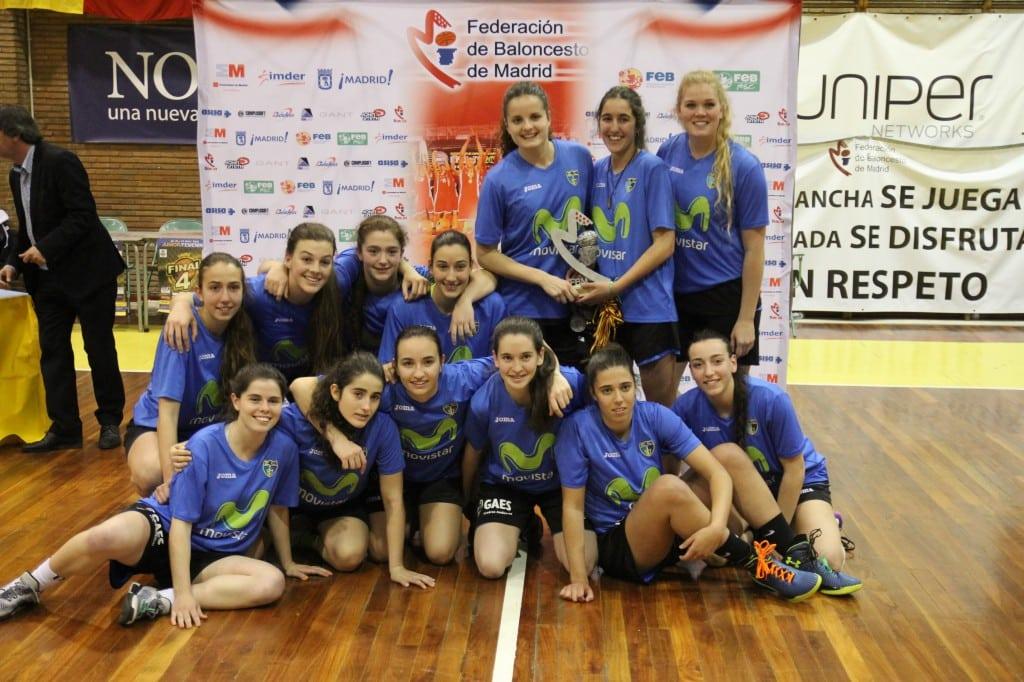 Fase Final Junior Femenina de Madrid: subcampeonas en una F4de locura