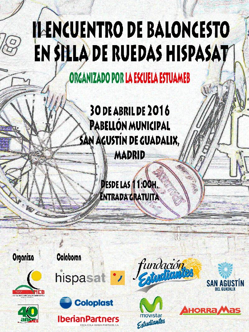 HISPASAT patrocina el II Encuentro de baloncesto en silla de ruedas
