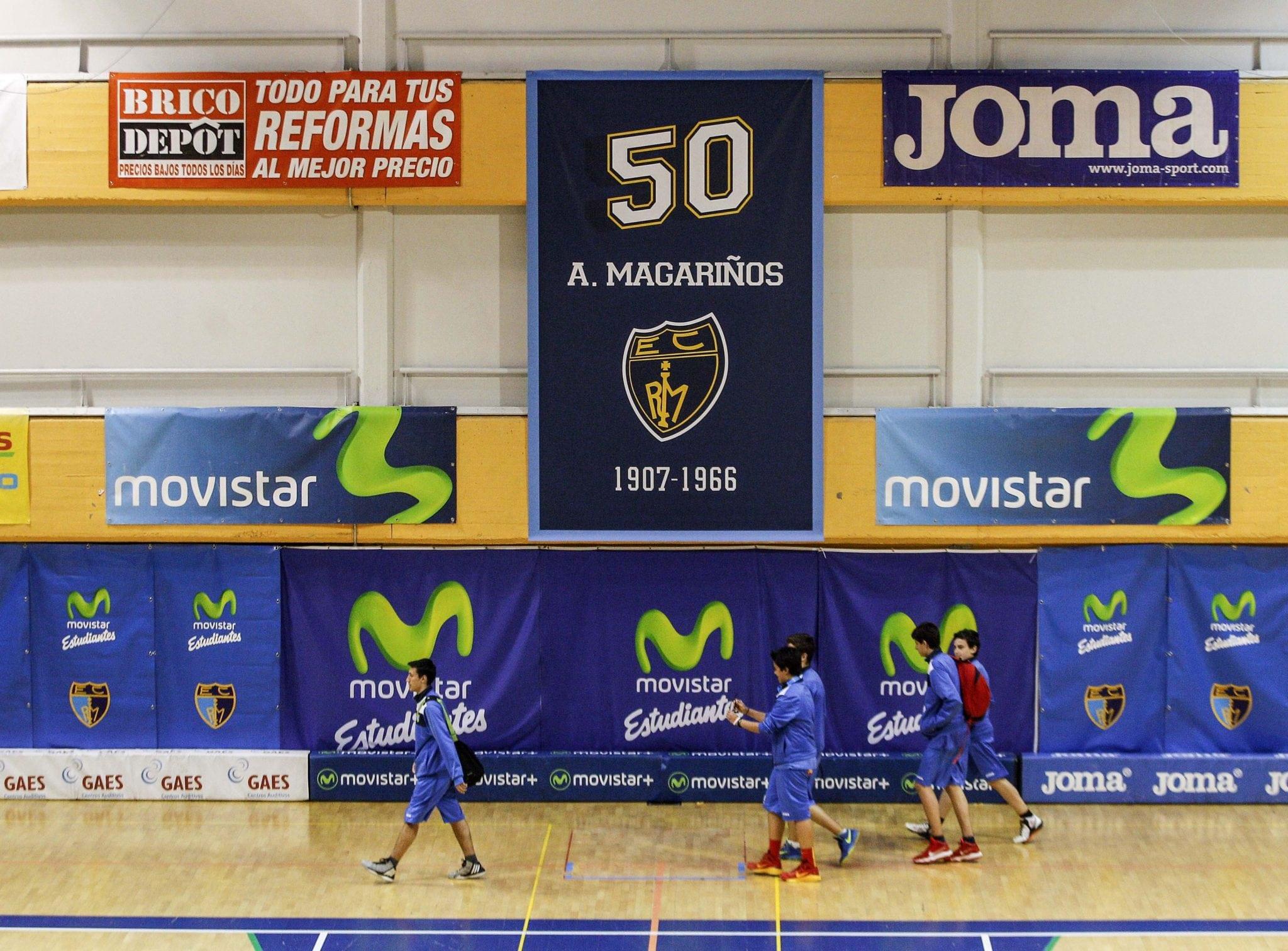 Escuela de Baloncesto 2016-17 en el Magariños