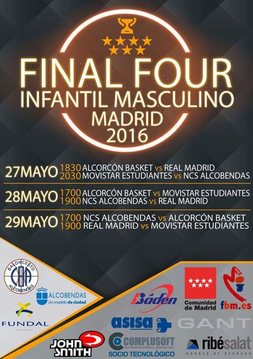 Fases Finales Infantiles Masculina y Femenina de Madrid