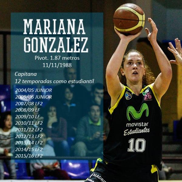 Liga Femenina 2: la capitana Mariana González cumplirá su 12ª temporada en Movistar Estudiantes