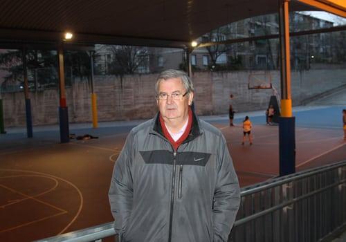 Condolencias por el fallecimiento de José Domaica, responsable de baloncesto del CD San Viator desde hace 45 años