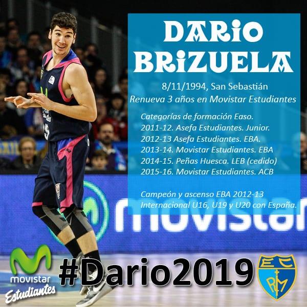 Darío Brizuela renueva por tres temporadas con Movistar Estudiantes