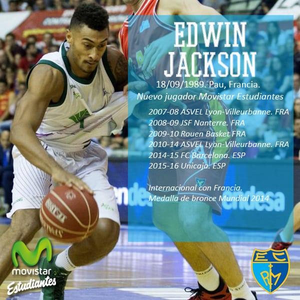Edwin Jackson refuerza el juego exterior de Movistar Estudiantes