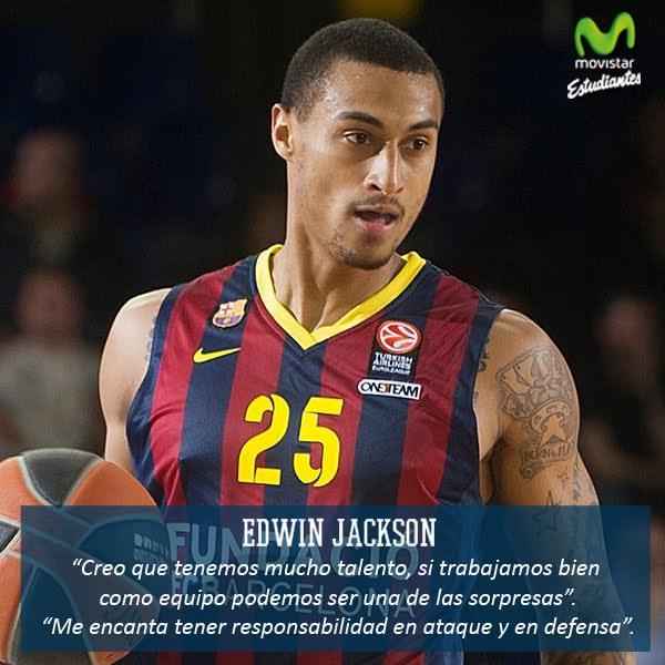 """Edwin Jackson: """"Si trabajamos bien como equipo podemos ser una de las sorpresas"""""""