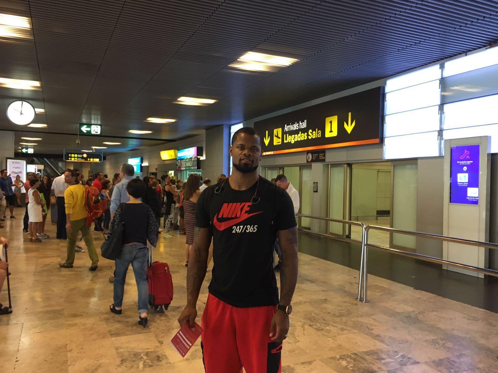 Omar Cook y Dylan Page ya están en Madrid
