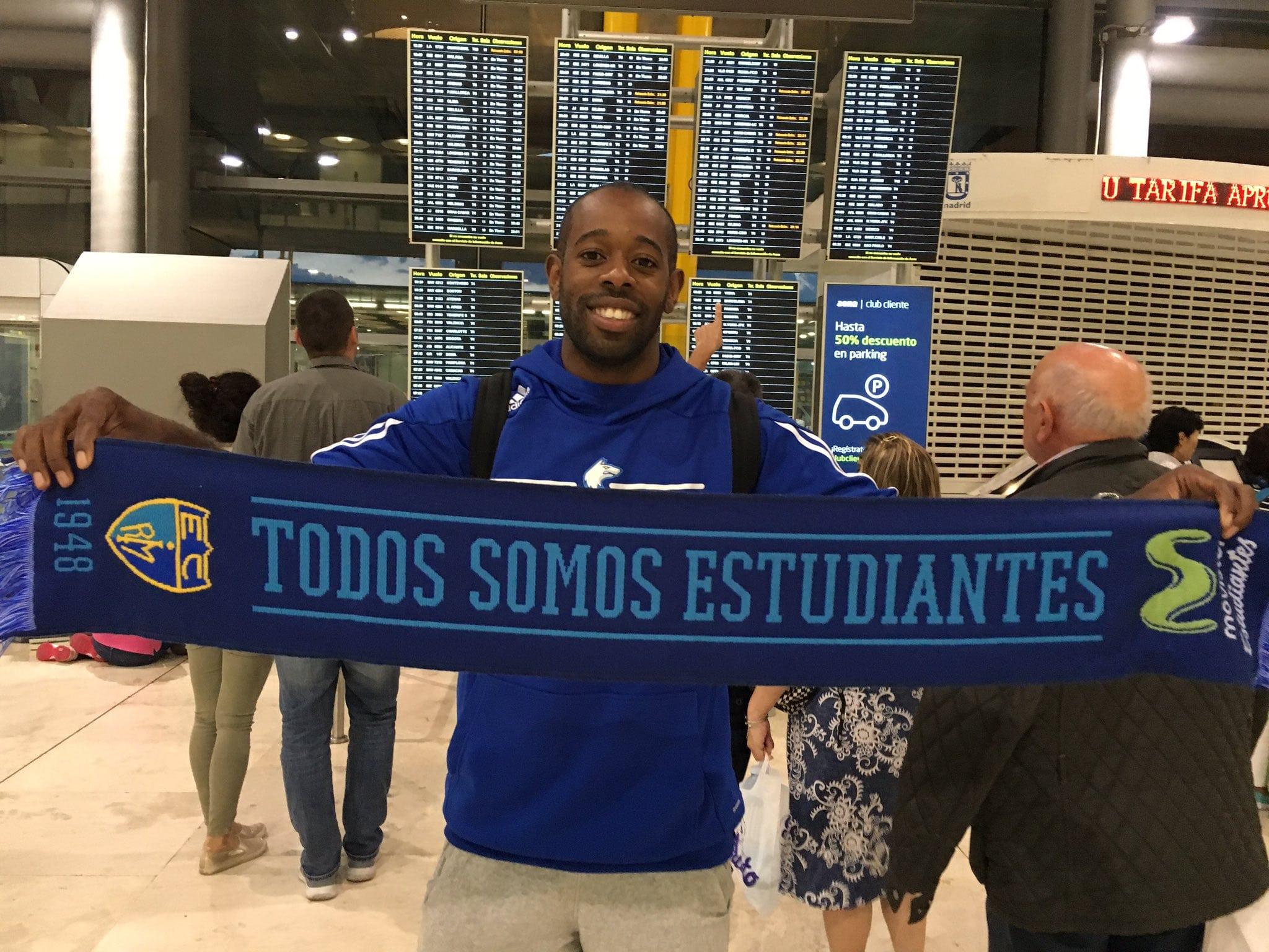 Jamar Wilson ya está en Madrid tras jugar con la selección finlandesa