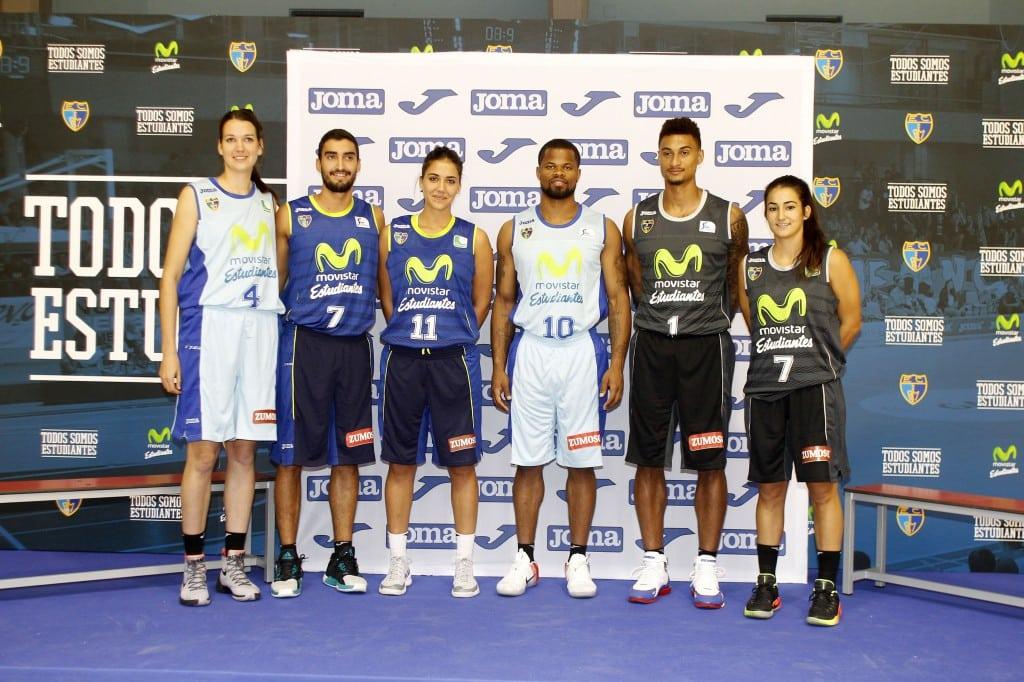 ¡Así vestirá Joma al Movistar Estudiantes 2016-17 en Liga Endesa y LF2!