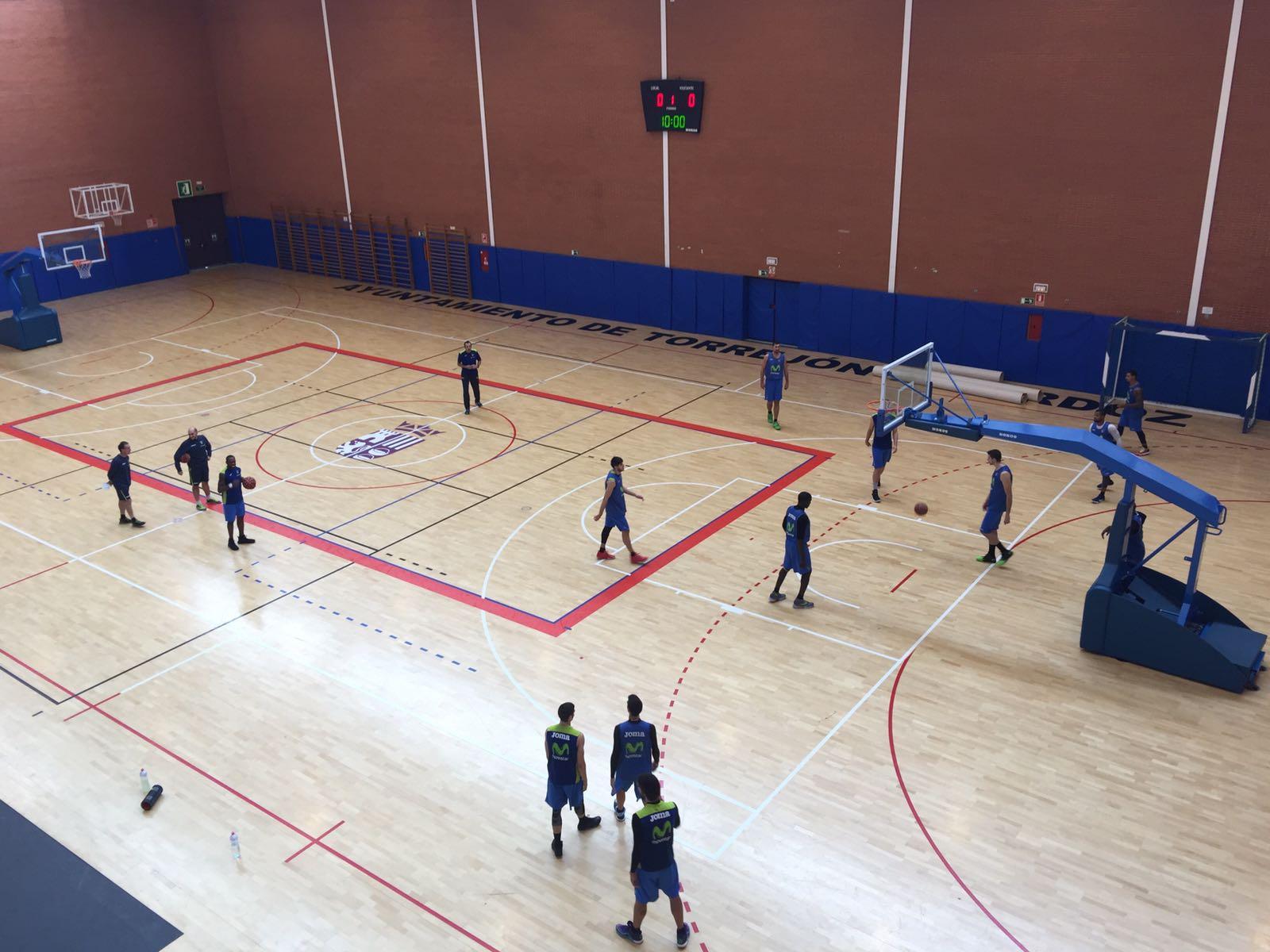 Movistar Estudiantes ya prepara el derbi entre Torrejón de Ardoz y el CSD