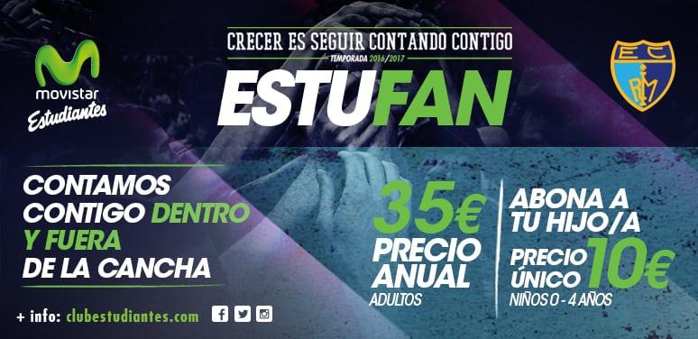Llega el Abono Estufan, adulto (35€/temporada) y baby (10€ pago único, 0-4 años). ¡Contamos contigo dentro y fuera de la cancha!