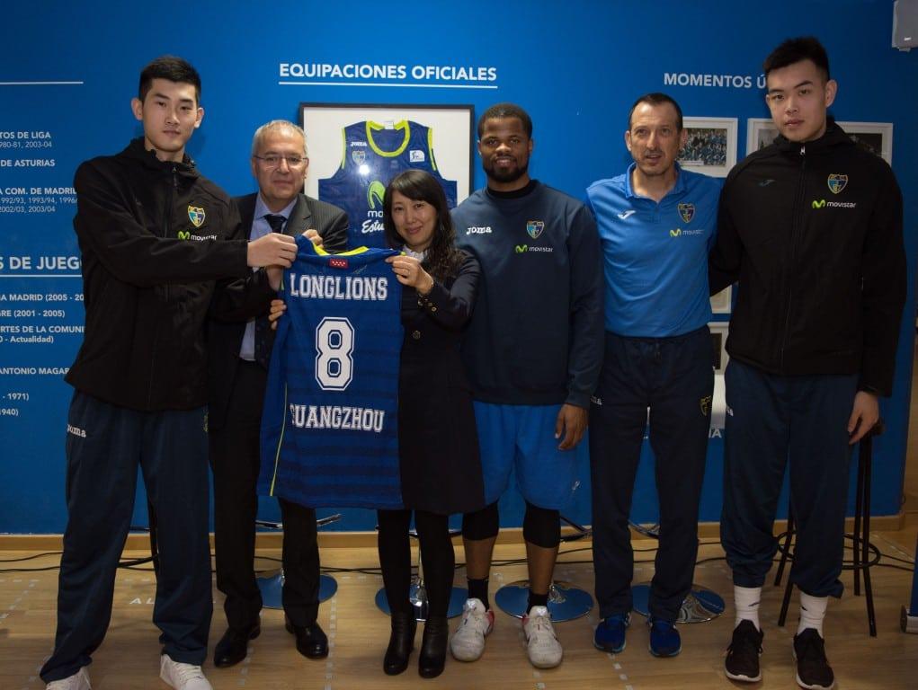 Movistar Estudiantes abre fronteras: acuerdo sobre formación a jugadores y entrenadores con el club chino Guangzhou Longlions