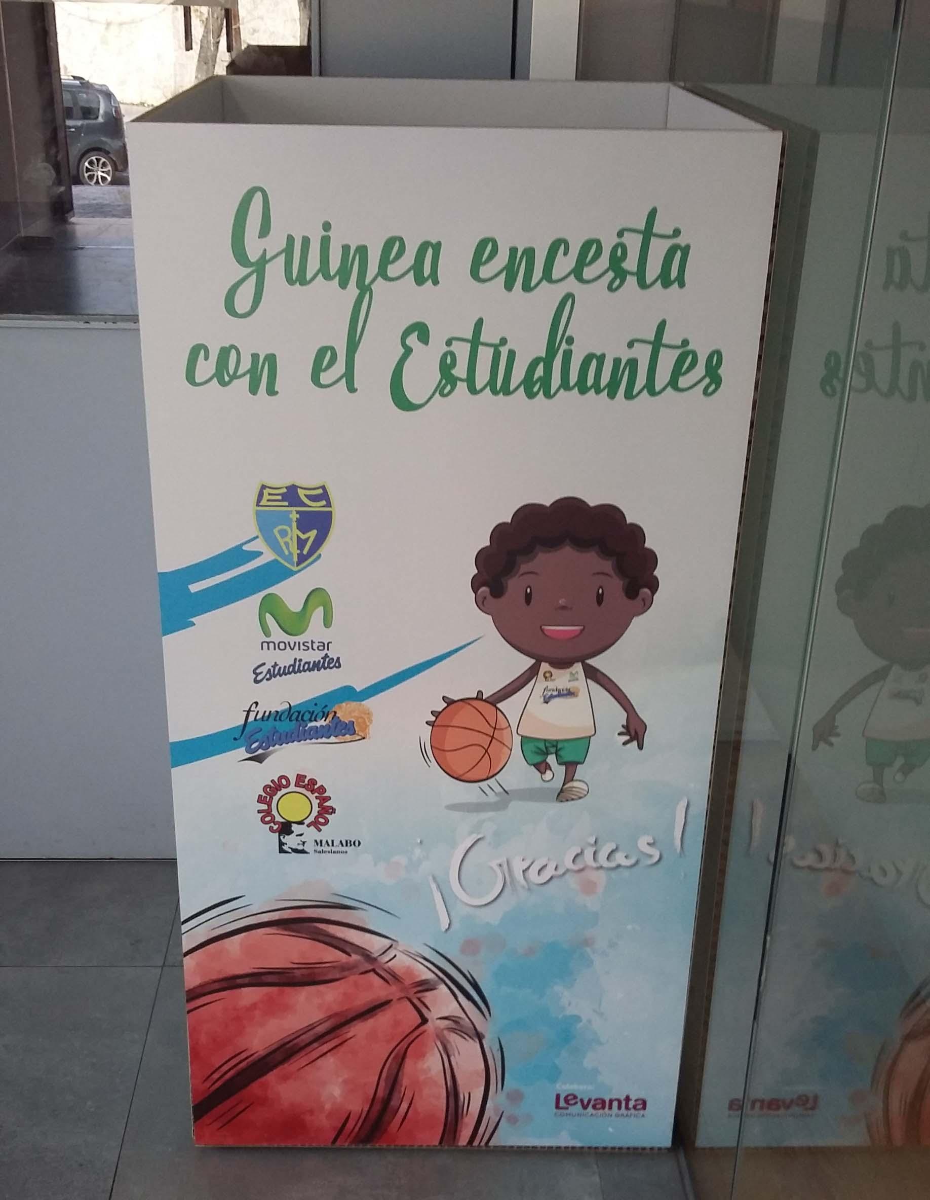 Recogida de material deportivo en buen estado para el Colegio Español de Malabo (Guinea Ecuatorial)