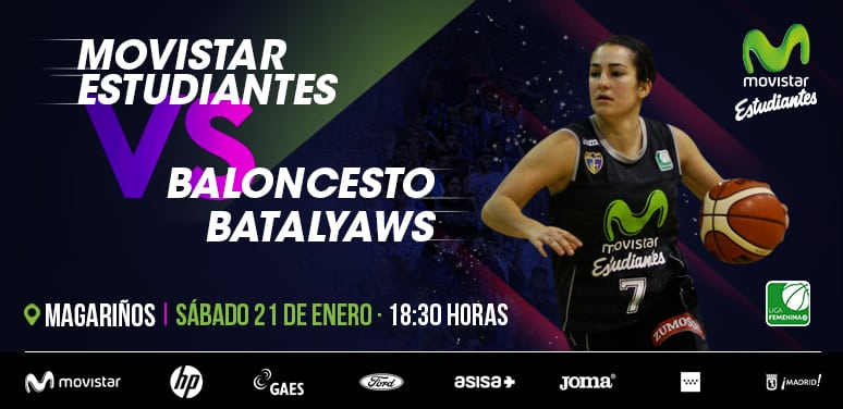 LF2: Movistar Estudiantes quiere seguir invicto en 2017 ante un mejorado Batalyaws Extremadura (Magariños, sábado a las 18:30)