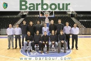 BARBOUR, PROVEEDOR OFICIAL DEL MMT ESTUDIANTES