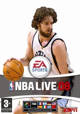 """BORJA LLORENTE PREMIADO CON EL """"NBA LIVE 08"""" PARA PS2"""