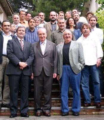 LUIS CASIMIRO REGRESA A MADRID TRAS UNAS JORNADAS PRODUCTIVAS EN BARCELONA